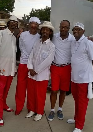 Freddie Curry, center, was a founding member of Lubbock band Element.