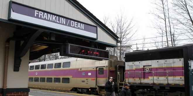 The Franklin commuter rail line is among seven in the state that will see weekend service cut effective the weekend of Jan. 23.