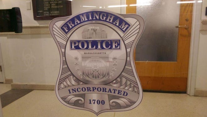 Framingham police say a teen assaulted them as they tried to make an arrest in regards to a stolen vehicle on Wednesday morning.
