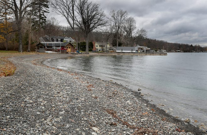 The city of Canandaigua could have a role in the town's tentative plan to buy one of two lakefront properties at 3950 County Road 16. The town has made no decisions on if it will pursue that property as well as the property above on Tichenor Point Drive.