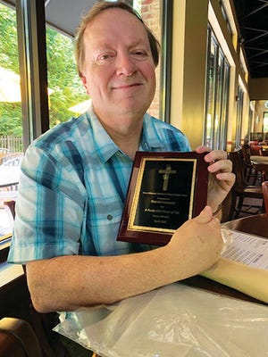 Danny Leonard, who won the Cleva Marrow Memorial Non-Fiction Prize, lives in Oak Ridge.