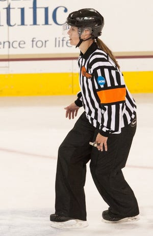 Rome's Mackenzie Welter, who has been an ice hockey official since the 2007-08 season, is set to be part of the officiating crew for the National Women's Hockey League's upcoming schedule in Lake Placid.