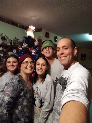 The Wohler family, from left to right: Annabelle,13; Stephanie, 40; Nicole, 17; Joseph, 19; and Michael, 41.