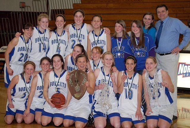 The Oyster River High School girls basketball team won its third Class I state championship of the decade in 2009, a 39-33 win over Hanover.