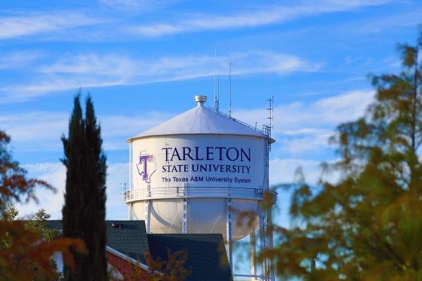 TSU campus water tower