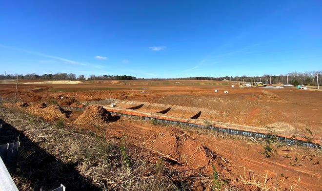 The site of the future Two Kings Casino in Kings Mountain.