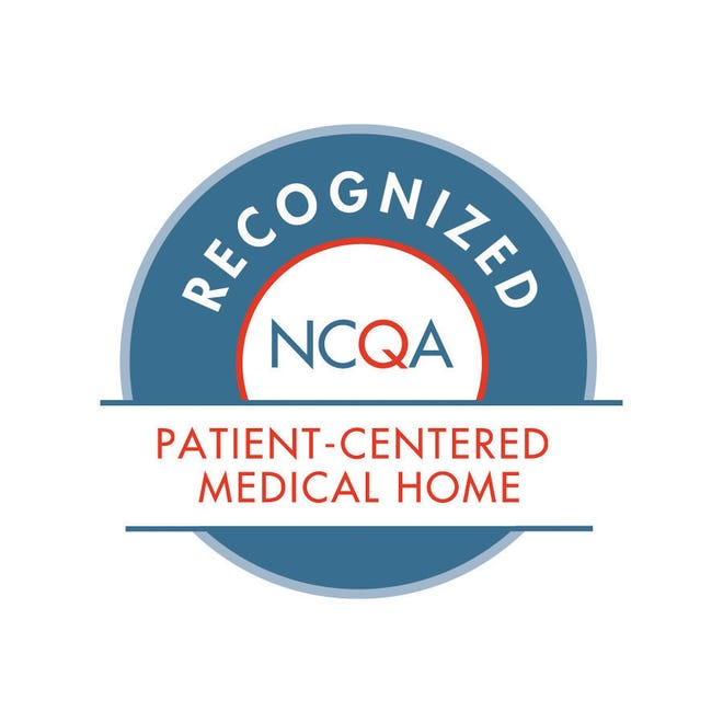 NHRMC Physician Group Primary Care practices recognized as patient-centered medical homes.