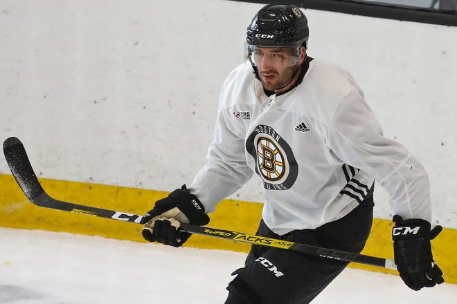 The Bruins named Patrice Bergeron captain on Thursday.