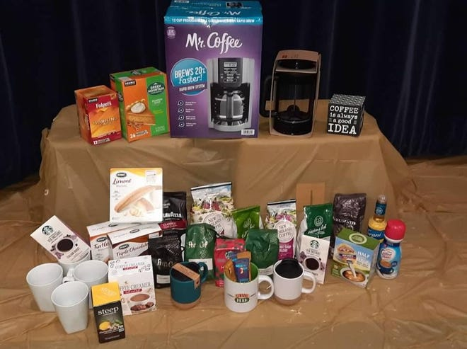 St. Joseph School Baltic will hold the virtual Winter Basket Raffle through 11:59 p.m. Jan. 29 featuring baskets such as the one pictured for coffee lovers.