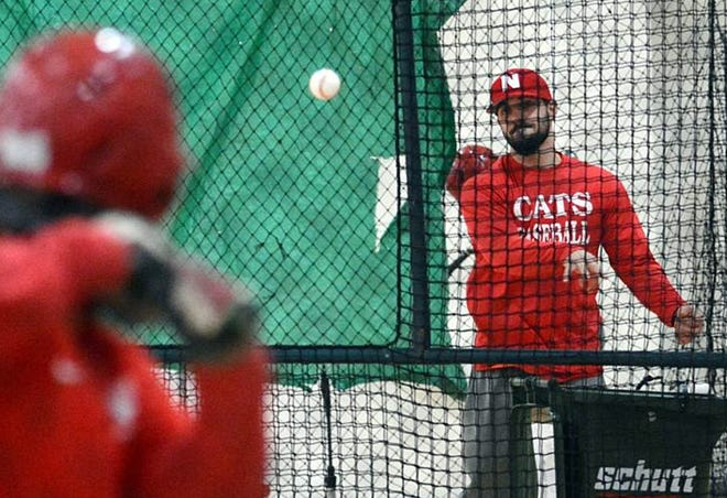 New NFA baseball coach Anthony Turgeon.