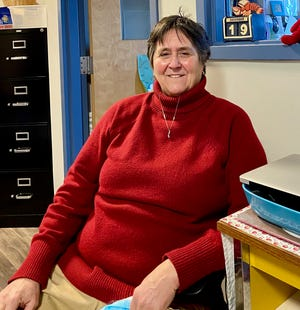 Former Leicester and David Prouty girls' basketball coach Sandy Nelson is enjoying the island life in Vinalhaven, Maine.