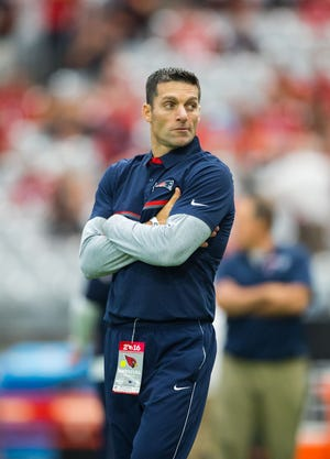 New Houston Texans GM Nick Caserio looks back at his time with the Patriots with appreciation for opportunities in the organization.
