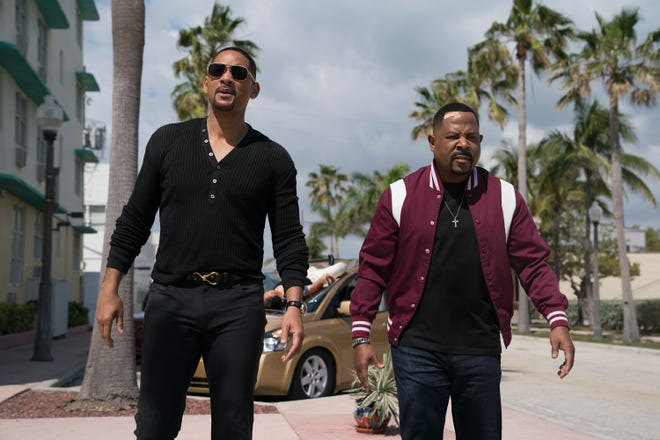 """Martin Lawrence, right, and Will Smith in a scene from """"Bad Boys for Life."""""""