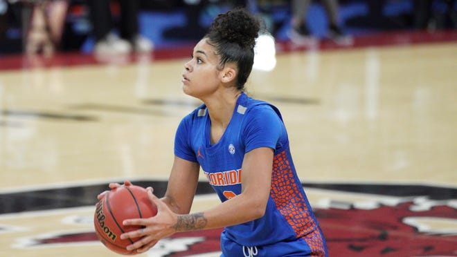 Florida sophomore Lavender Briggs, the Gators' leading scorer, will miss the remainder of the season with a foot injury.