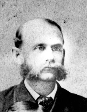 """Leonard G. Dennis, a native of Massachusetts who had served in the Union Army in Florida during the war, became """"political boss"""" of Alachua County in 1876."""