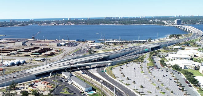 """Only a couple """"punch-list items"""" remain before construction of the 23rd Street flyover is complete. Officials expect to wrap up work sometime this spring."""