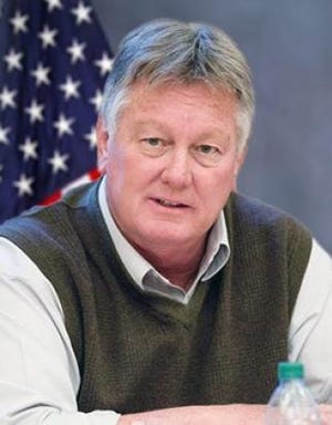 Terry Hart, Pueblo County Commissioner through Jan. 11, 2021, is seen here in an official county photo.