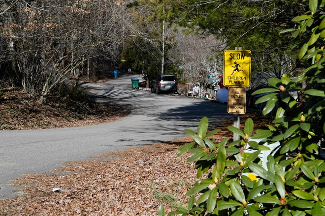 Neighbors challenging the Bluffs development planned for Woodfin balked at the town's repealing part of its code regulating new developments which they've relied on in part to oppose the plan. Part of that is expected construction traffic, and the estimated 3,000-plus vehicle trips each day will have on small nearby streets.