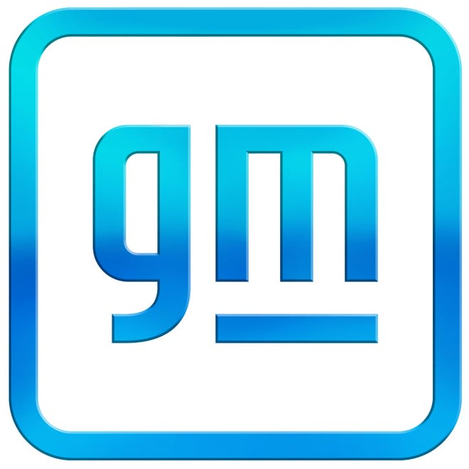 GM's new corporate logo to reflect its move to electrification in the future.
