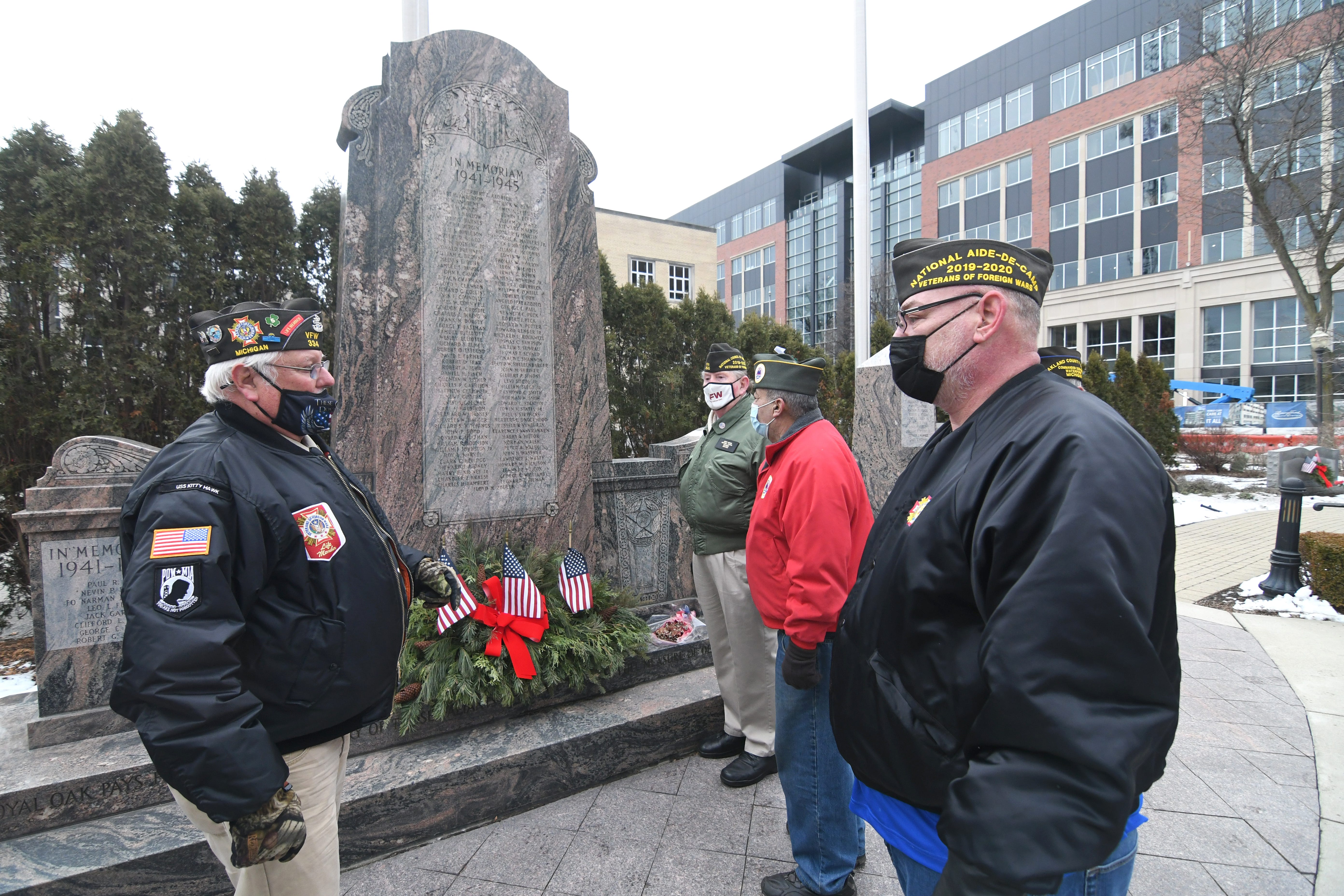 Royal Oak commission votes to put issue of Veterans Memorial location on ballot