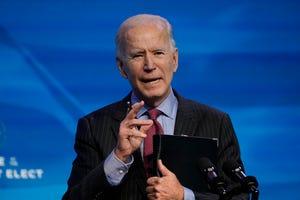 Presiden terpilih Joe Biden.