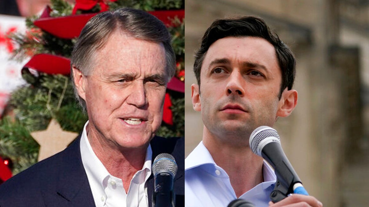 GOP's David Perdue concedes to Jon Ossoff in Georgia runoff 1
