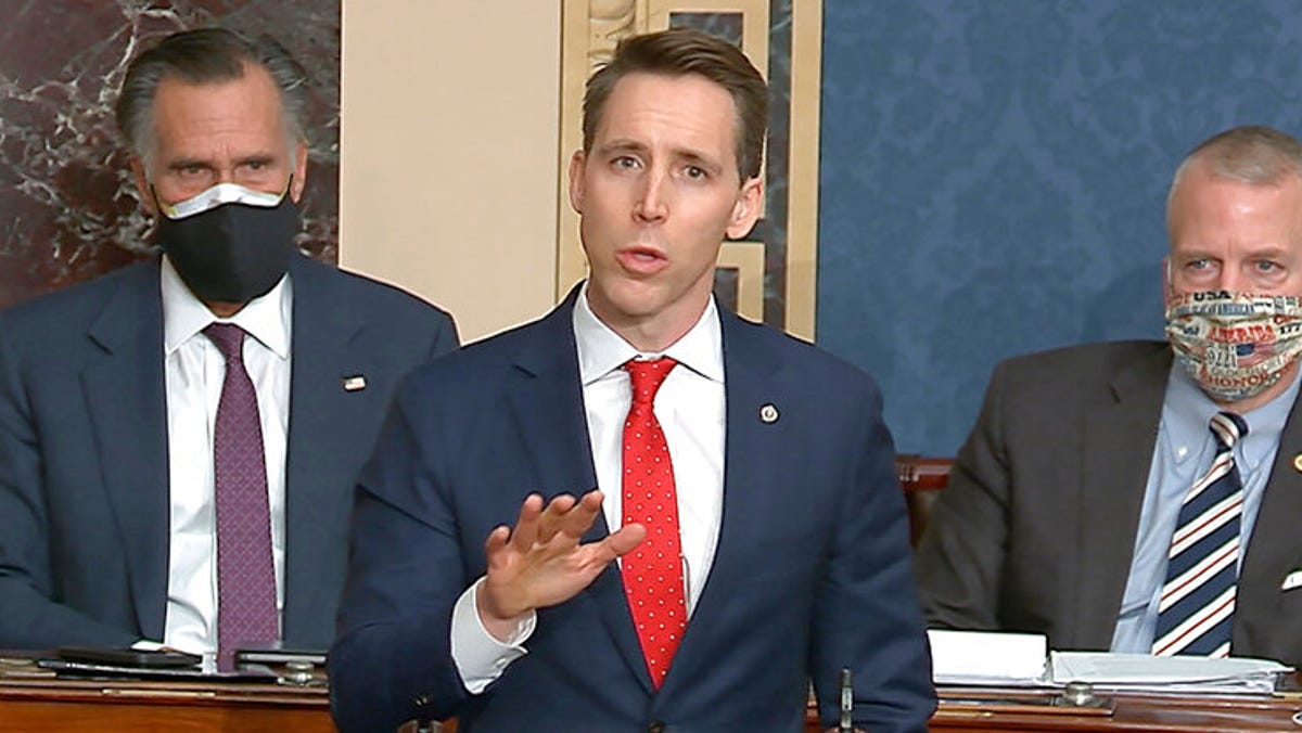 'Great damage': Republicans recoil from Missouri Sen. Hawley 1
