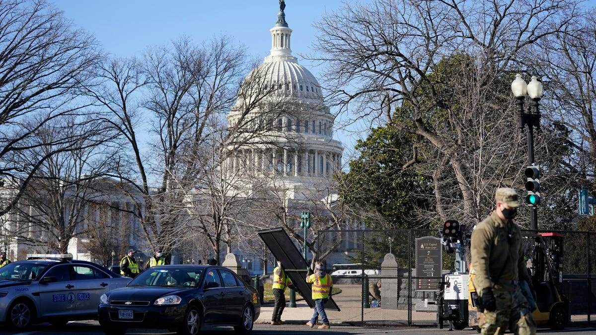 Capitol siege raises security concerns for Biden inaugural 1