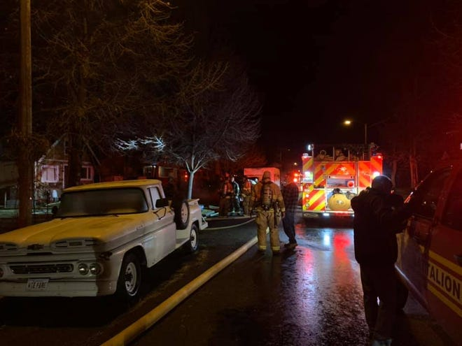 A house fire at 6th Avenue North and 19th Street left a family displaced and their home uninhabitable early Friday morning.
