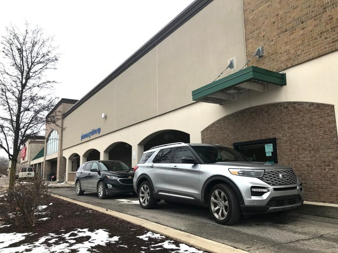 Meijer's at 45001 Ford Road in Canton will expand this drive-through pharmacy to the store's west side in an upcoming renovation.