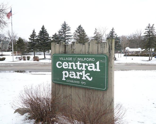 Milford's Central Park at 159 N. Main Street.