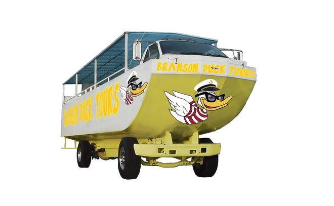 A submitted photo from Branson Duck Tours.