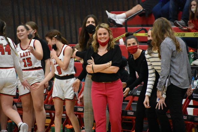 New Hurricane girl's basketball coach Pepper Reddish vows to bring fundamentals and an active personality to the Tiger sidelines.