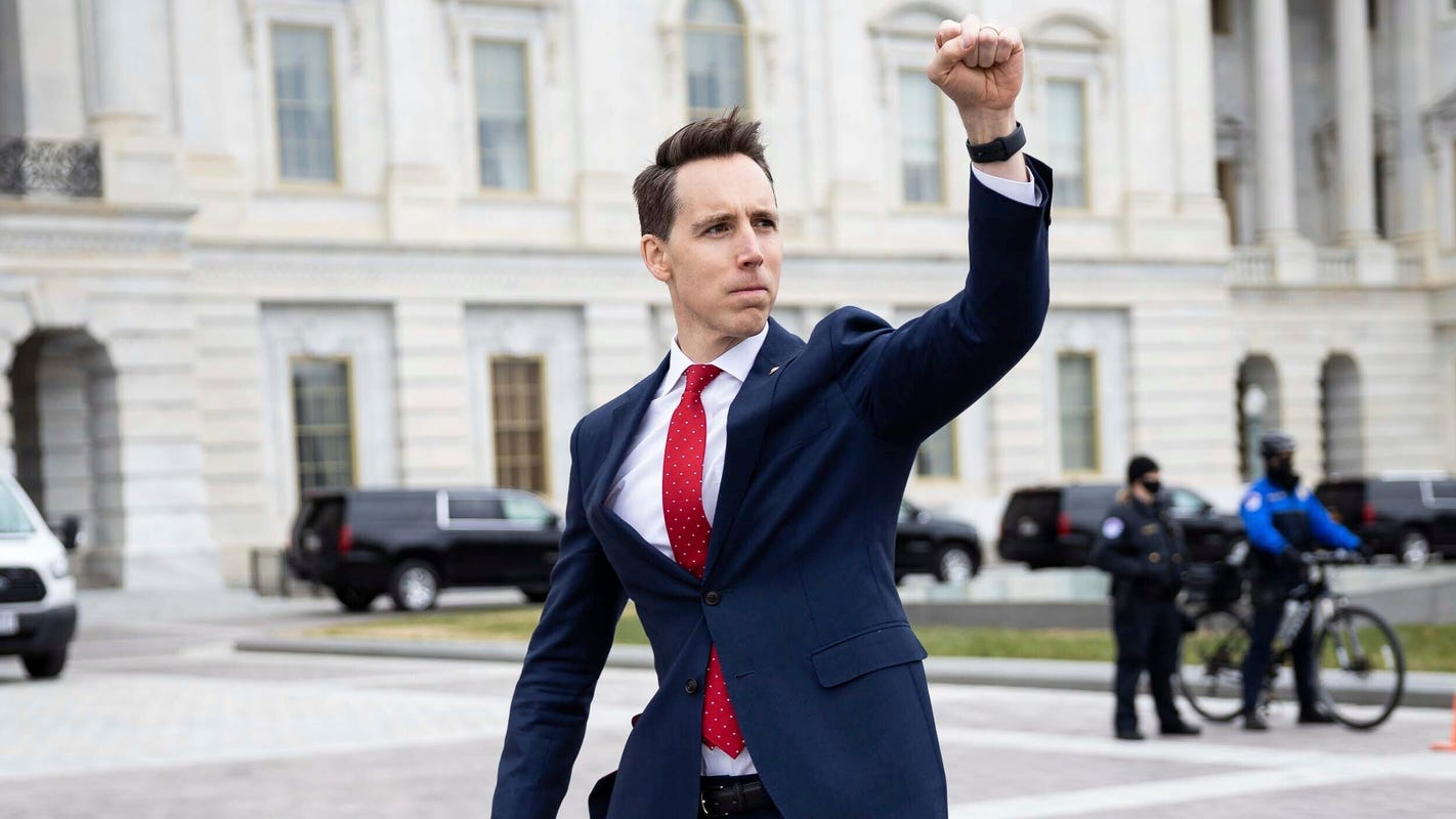 I taught Sens. Josh Hawley and Ted Cruz in law school. Clearly they didn't pay attention.