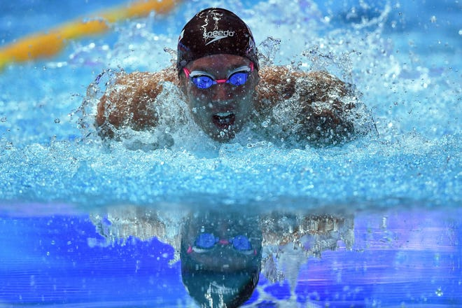 Former University of Florida standout Caeleb Dressel qualified as the top seed in three events heading into the US Olympic Trials.