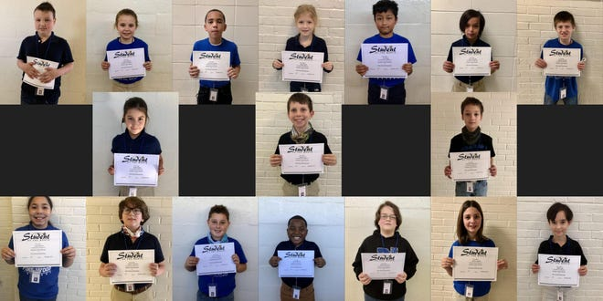 Pine Wood's January Students of the Month
