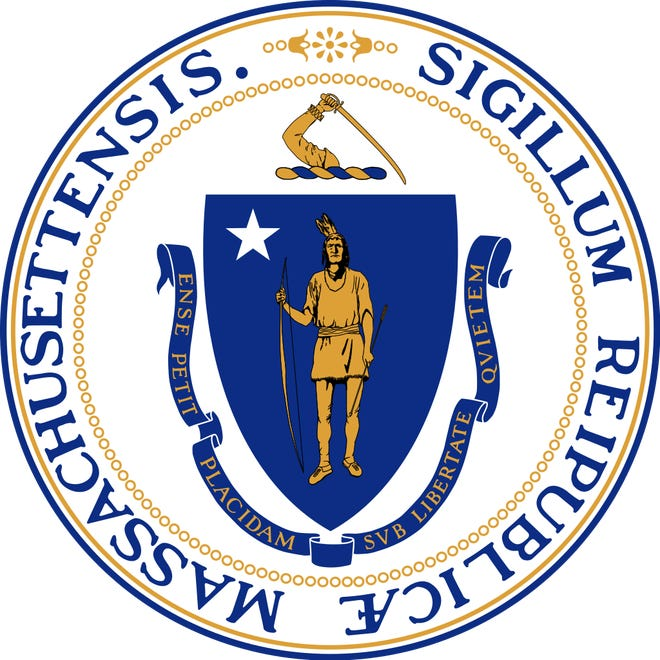 The Massachusetts Legislature voted to change the state seal and motto on Wednesday, Jan. 6. The bill is now on Gov. Charlie Baker's desk. Native American residents have long said that the seal and motto are symbols of white supremacy.