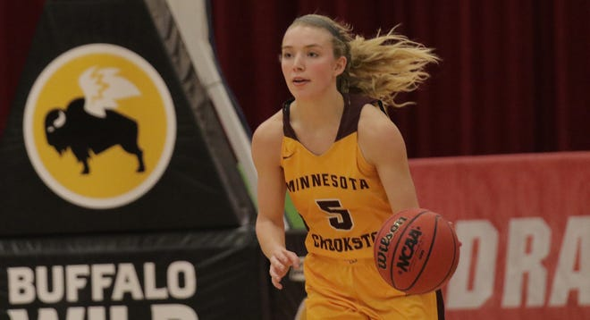 Kylie Post and the Minnesota Crookston women's basketball team fell 77-67 to Minnesota State Moorhead on Friday night.
