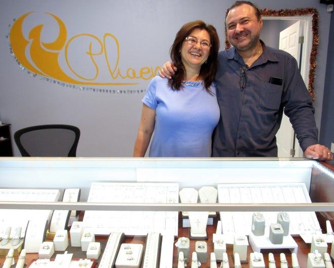 Valeriya Kostyuk and Andrey Kostyuk opened the doors to Phoenix Jewelry on Nov. 3, offering elegant,  high quality, affordable jewelry in Palm Coast.
