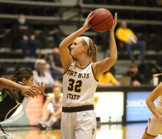 Whitney Randall scored 20 points in the Tigers' win at Lincoln on Saturday.