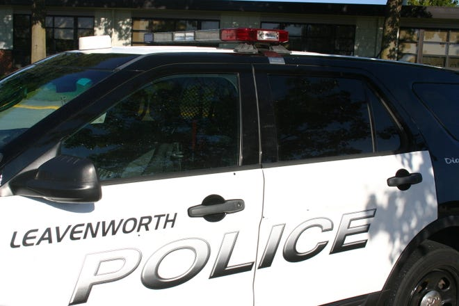 Leavenworth police are searching for a stabbing suspect.