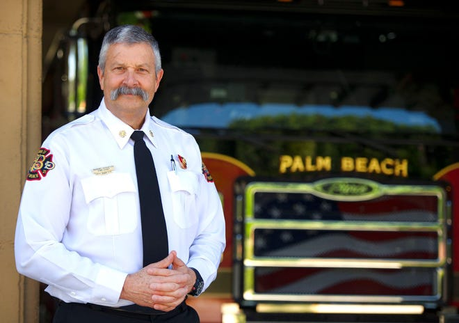 Palm Beach Fire Chief Darrel Donatto.