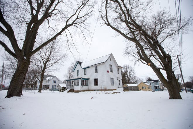 A property at 1033 Garfield Blvd. on Friday in Belvidere.