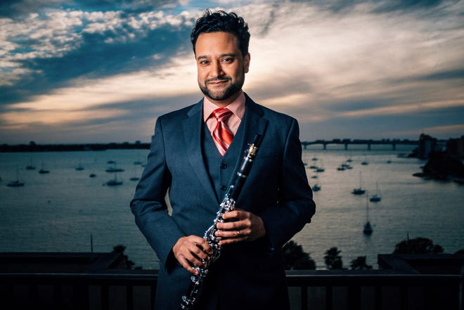 "Bharat Chandra, principal clarinet with the Sarasota Orchestra, is featured in ensembleNEWSRQ's ""Solitude and Suffrage"" program."