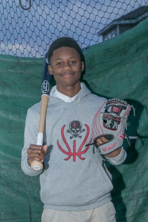 Jacques King, 14, of Rincon is an eighth-grader at Savannah Christian and pursuing his interest in baseball at an elite level for his age.