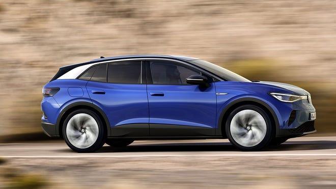 The 2021 Volkswagen ID.4.