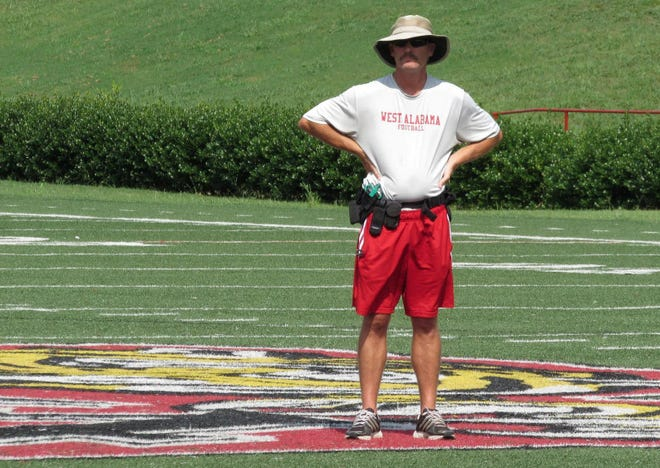 Brad Montgomery retired as the University of West Alabama's director of athletic training. His tenure there lasted 31 years and found him working with seven different head football coaches.