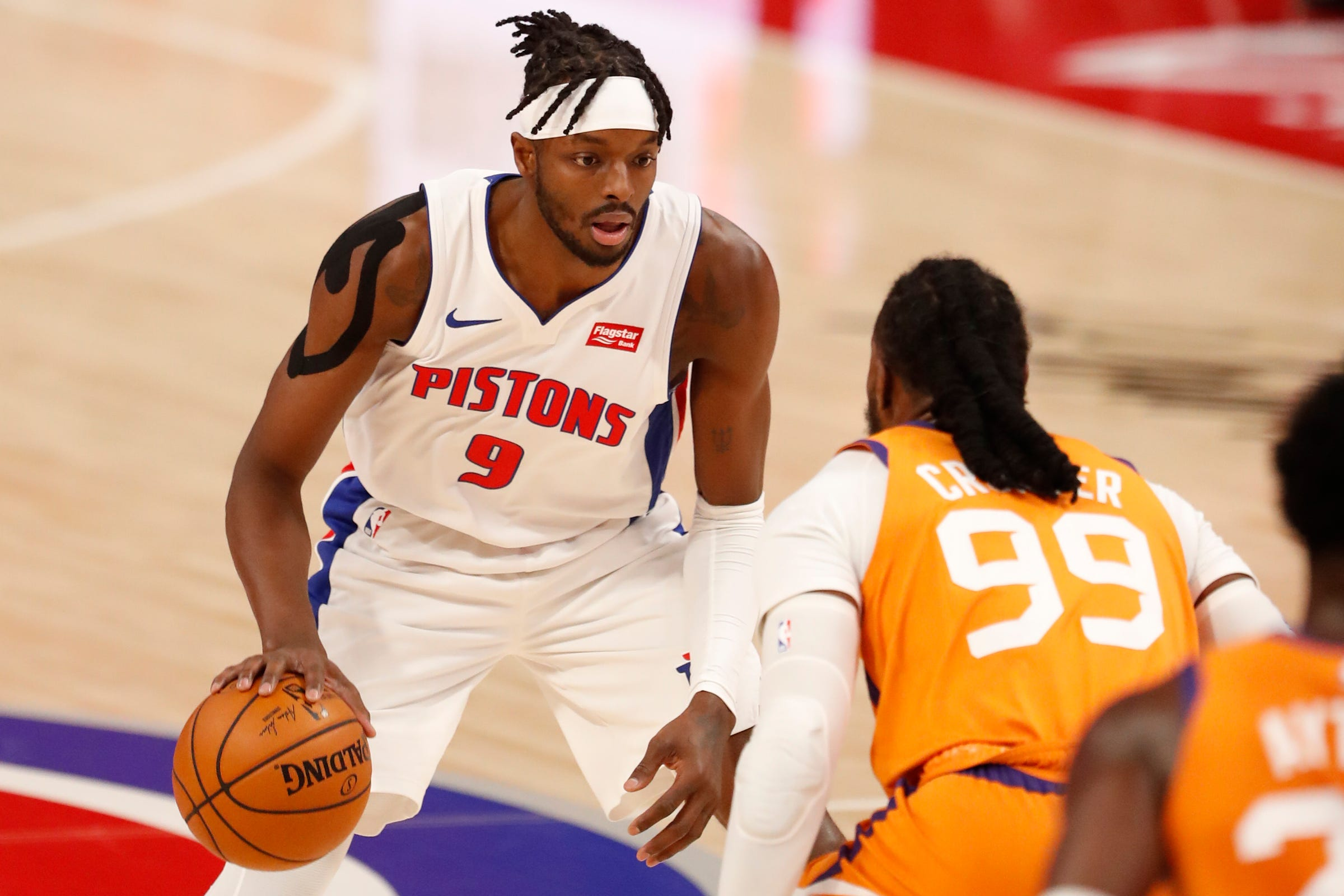 Detroit Pistons' Jerami Grant learning how to become the go-to guy