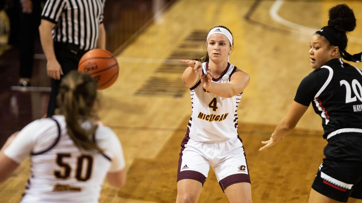 Saturday's state women's basketball: Central Michigan bounces Buffalo, wins fourth straight 1