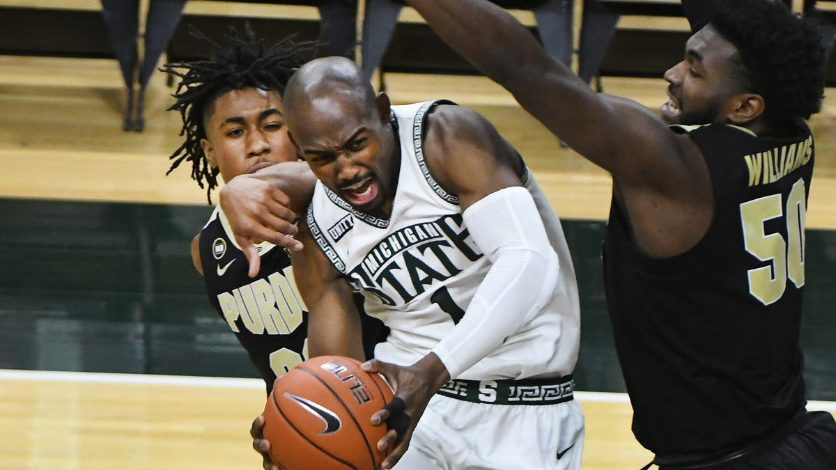 Michigan State players refuse to hang heads, vow to rebound after stinging Purdue defeat 1